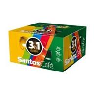 Кафе Santos 3 в 1 кутия 15 гр. 30 бр. в кутия