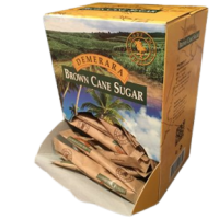 Захар кафява дози кутия 2 гр. 150 бр