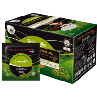 Spetema Pod GREEN COFFEE сурово 16 бр х 7 г 2