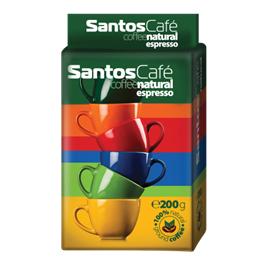 SantosCafe Natural мляно, вакуум 0.200кг